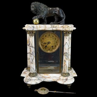 A.D. Mougin French Mantle Clock