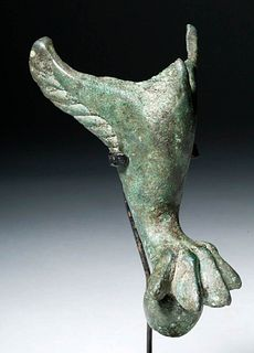 Roman Bronze Casket Foot - Lion Claw & Wings