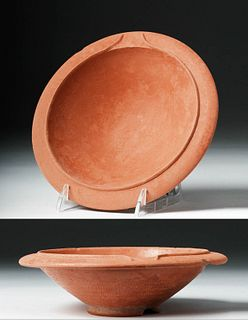 Roman Redware Bowl / Mortarium Channeled Spout