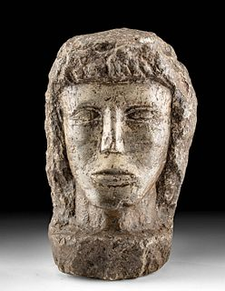 6th C. Early Medieval / Late British Celtic Stone Head