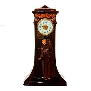 Royal Doulton Kingsware Monk Clock