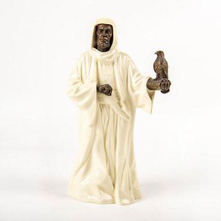 Minton Porcelain and Bronze Figure, The Sheikh M.S.3