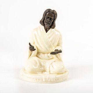 Minton Porcelain and Bronze Figure, The Sage M.S. 25