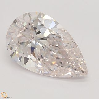 3.03 ct, Natural Very Light Pink Color, IF, Pear cut Diamond (GIA Graded), Unmounted, Appraised Value: $478,700