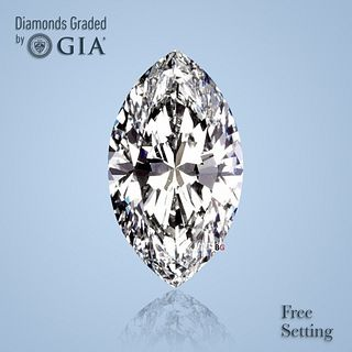 5.06 ct, F/VS1, Marquise cut Diamond. Unmounted. Appraised Value: $518,000