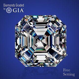 3.05 ct, E/VS1, Square Emerald cut Diamond. Unmounted. Appraised Value: $128,100