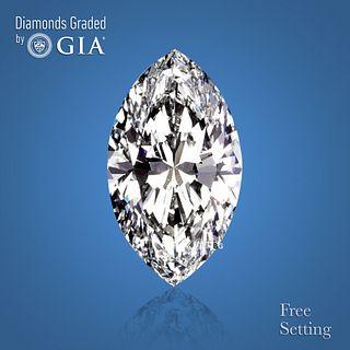 5.04 ct, E/VS2, Marquise cut Diamond. Unmounted. Appraised Value: $464,900