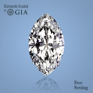 4.03 ct, G/VS2, Marquise cut Diamond. Unmounted. Appraised Value: $162,200