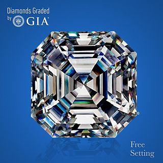 4.03 ct, F/VS1, Square Emerald cut Diamond. Unmounted. Appraised Value: $253,800