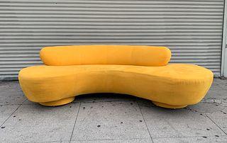Serpentine Sofa by Vladimir Kagan for Directional