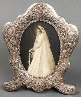 Gorham Art Nouveau Sterling Silver Picture Frame