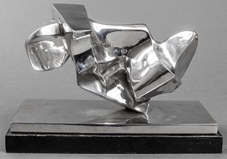 Anthony Padovano Stainless Steel Sculpture, 1967