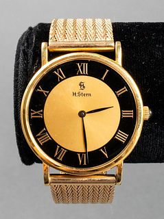 Vintage H. Stern 18K Yellow Gold Watch