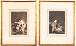 "Francisco Goya ""Los Caprichos"" Etchings, 2"