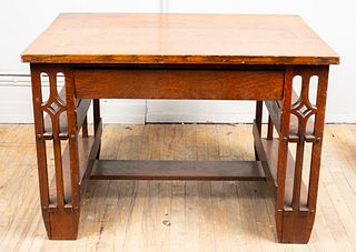 Arts & Crafts Oak Desk