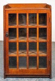 Gustav Stickley Arts & Crafts Single-Door Bookcase