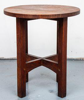 Gustav Stickley Mission Oak Side Table