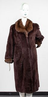 Paul Sekas Mink And Fox Fur Coat