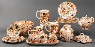 "Royal Cauldon ""Bittersweet"" Porcelain, 28 Pcs."