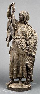 Cornelius & Baker Zinc Figural Sculpture