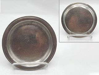 """American Pewter Plates, 5-3/8"""""""