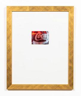 JOHN SUMNER, COKE BOTTLE STILL LIFE PHOTO, FRAMED