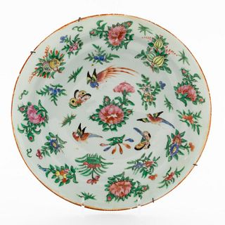 PRESIDENT ROOSEVELT, CHINESE EXPORT PLATE