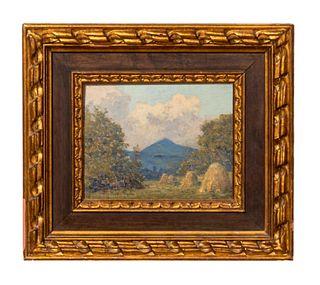 1919 SCOTTISH LANDSCAPE, TOM ROBERTSON, FRAMED