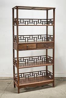Chinese Wood Shelves