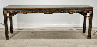 Chinese Gilt and Painted Wood Altar Table