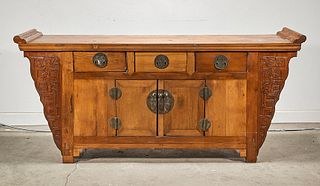 Chinese Hard Wood Cabinet