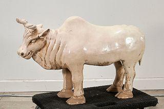 Chinese Ceramic Bull