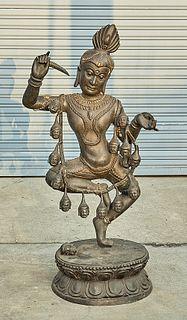 Bronze Deity