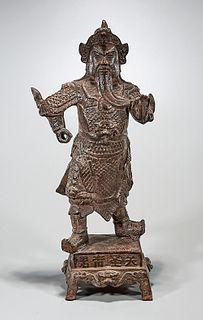 Ming Dynasty Iron Figure of Guandi