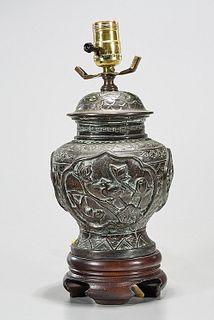 Chinese Metal Lamp