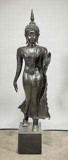 Southeast Asian Metal Buddha