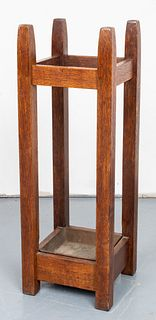 Gustav Stickley Mission Umbrella Stand