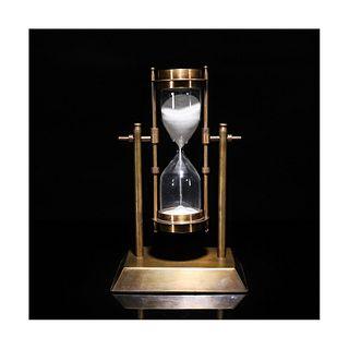 A Nautical Compass Hourglass