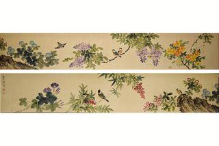 The Chinese Bird-and-flower Painting, Wang Shensheng Mark