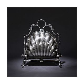 A Silver-plated Cupronickel Fruit Plate