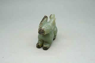 A Jade Dragon Ornament