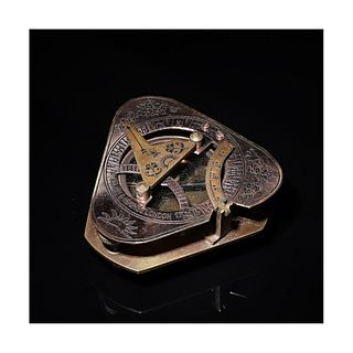 A Nautical Sundial and Compass