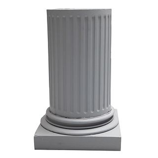Decorative classic greek style column decorator pedestal