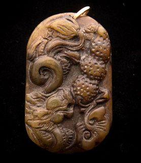 Chinese Hardstone Pendant