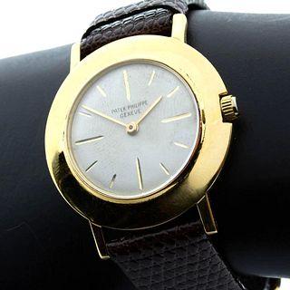Patek Philippe Disco Volante 18K YG Men's Wrist Watch