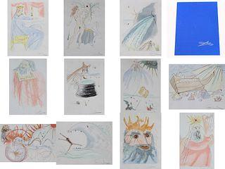 "Salvador Dali ""Our Historical Heritage"" Portfolio"