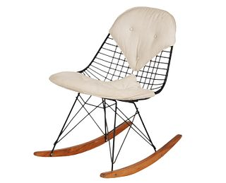 Eames RKR Wire Rocking Chair
