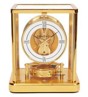 Tiffany & Co. Jaegar LeCoultre Atmos Clock