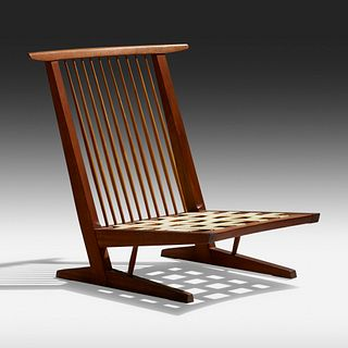 George Nakashima, Conoid Cushion lounge chair
