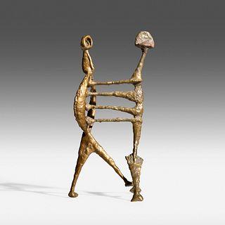 Harry Bertoia, Untitled (Two Figures)